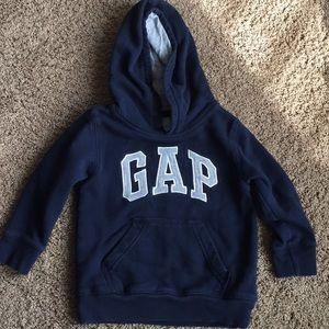 Navy & grey gap hoodie
